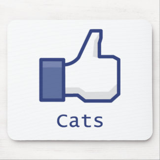 Like Cats Mouse Pad