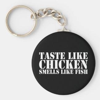 Like Chicken Basic Round Button Keychain
