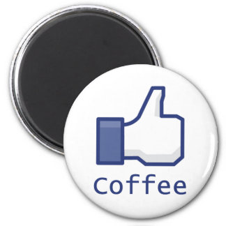 Like Coffee 2 Inch Round Magnet