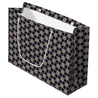 Like Daisy Pattern Large Gift Bag