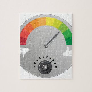 Like Dislike Meter Gauge Icon Jigsaw Puzzle