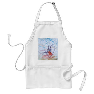 Like Elephants Painting Abstract, Best Square Adult Apron