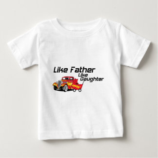 Like Father Like Daughter Hot Rod Tees