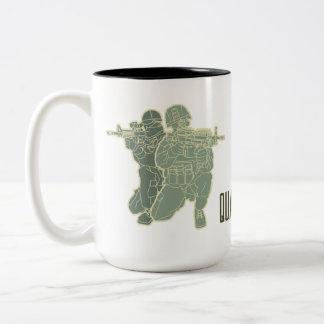Like Father Like Son Two-Tone Coffee Mug
