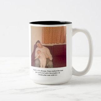 Like Father, Like Son Two-Tone Coffee Mug