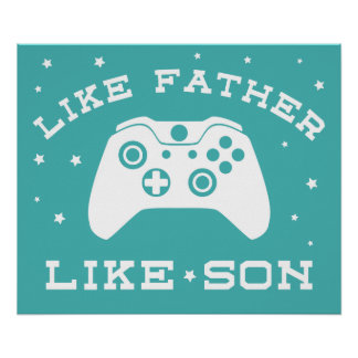 Like Father - Like Son (Xbox) Poster