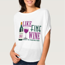 LIKE Fine WINE aged to PERFECTION Vintage 1961 T-Shirt