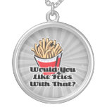 like fries with that personalized necklace
