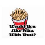 like fries with that postcard