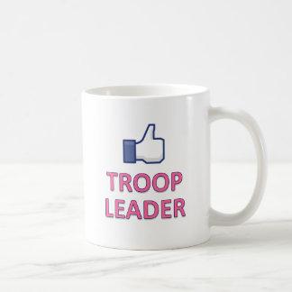 LIKE GIRL SCOUT TROOP LEADER COFFEE MUG