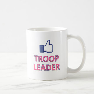 LIKE GIRL SCOUT TROOP LEADER CLASSIC WHITE COFFEE MUG