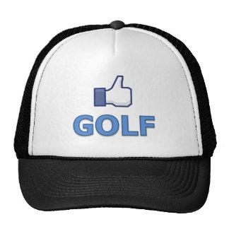 LIKE GOLF HATS