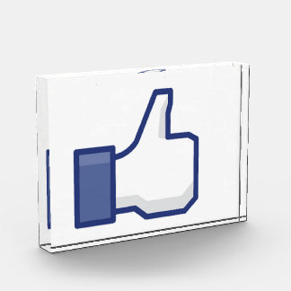 Like Hand - FB Thumbs Up Acrylic Award