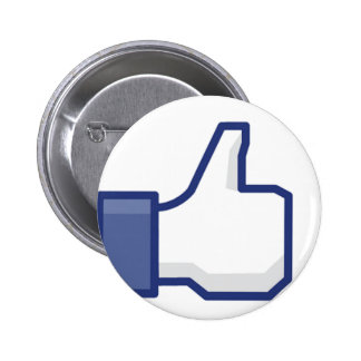 Like Hand - FB Thumbs Up Pinback Buttons
