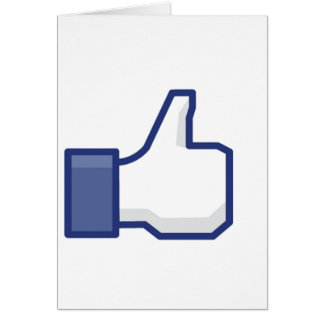 Like Hand - FB Thumbs Up Card