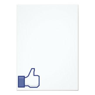 Like Hand - FB Thumbs Up Card