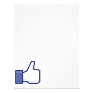 Like Hand - FB Thumbs Up Flyer