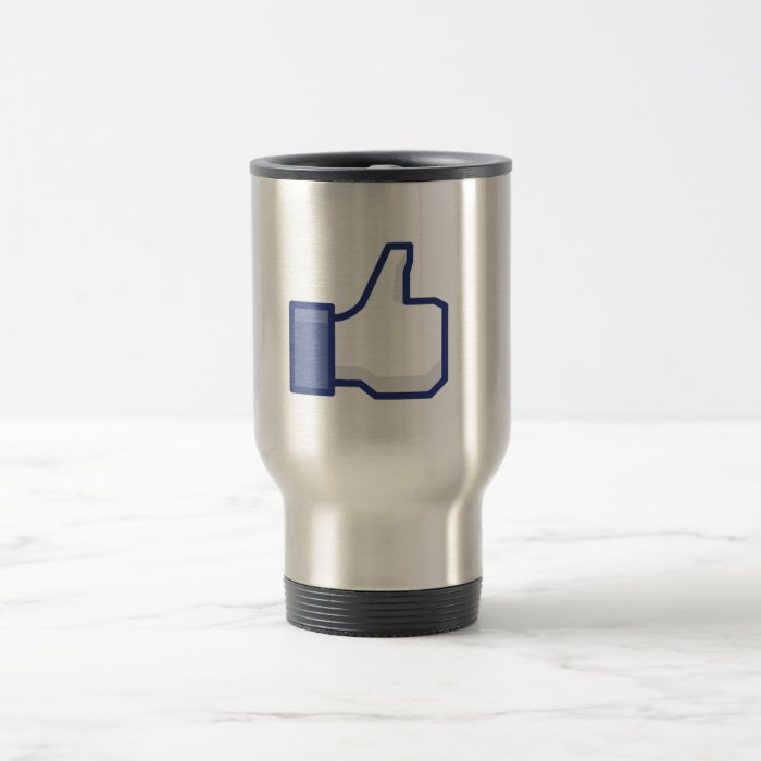 Like Hand - FB Thumbs Up Travel Mug