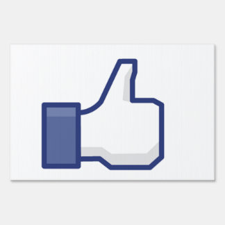 Like Hand - FB Thumbs Up Lawn Signs