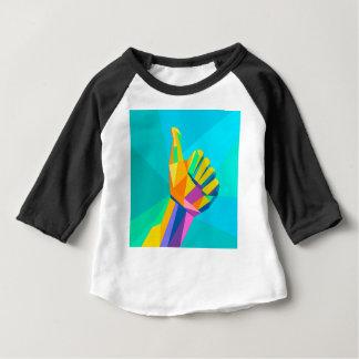 Like hand sign geometrical style baby T-Shirt