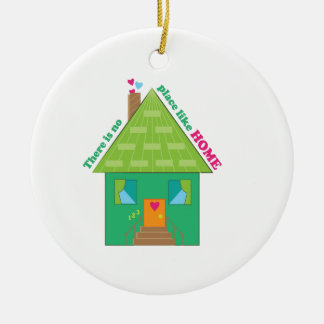 Like Home Ceramic Ornament