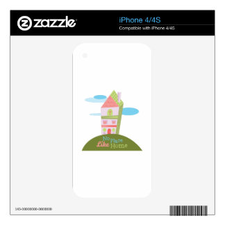 Like Home Decal For iPhone 4