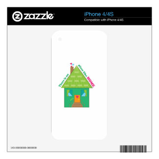 Like Home Skins For The iPhone 4S