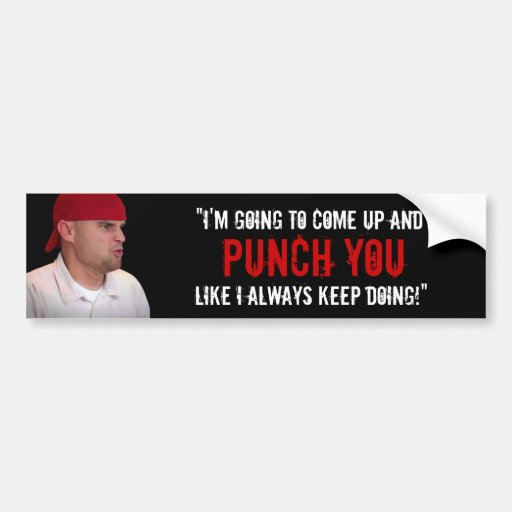 """Like I Always Keep Doing"" Car Bumper Sticker"