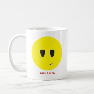 Like I care Coffee Mug