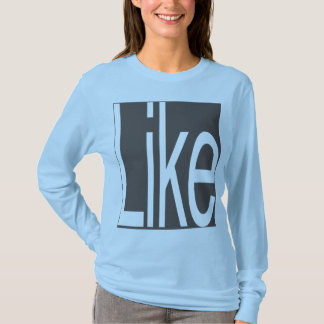 Like in Iron wht lngslv wmn front only LIMITED 09 T-Shirt