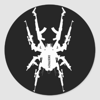 Like Insects 3 Classic Round Sticker