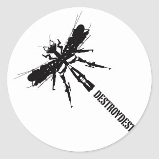 Like Insects 5 Classic Round Sticker