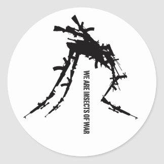 Like Insects 6 Classic Round Sticker