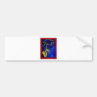 Like Jazz Man by Piliero Bumper Sticker