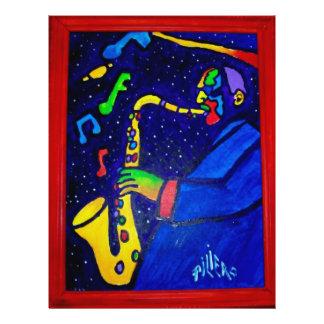 Like Jazz Man by Piliero Flyer Design