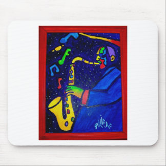 Like Jazz Man by Piliero Mouse Pad