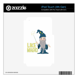 Like Magic iPod Touch 4G Decal
