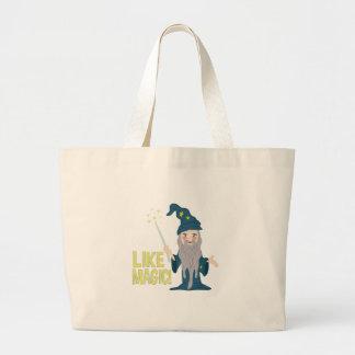 Like Magic Large Tote Bag