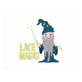 Like Magic Postcard
