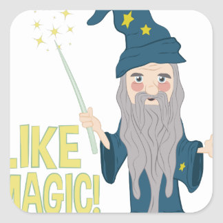 Like Magic Square Sticker