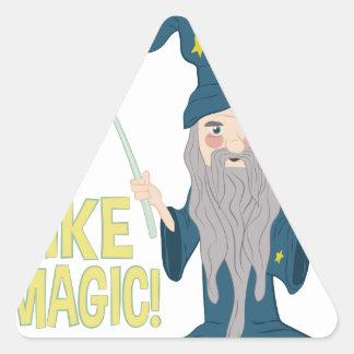 Like Magic Triangle Sticker