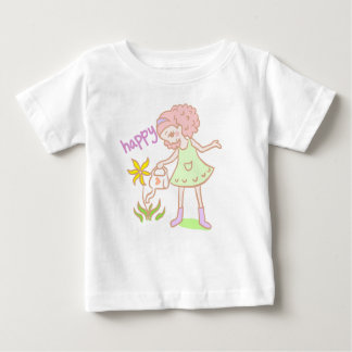 'Like Mandy' Character for Baby Girls Baby T-Shirt