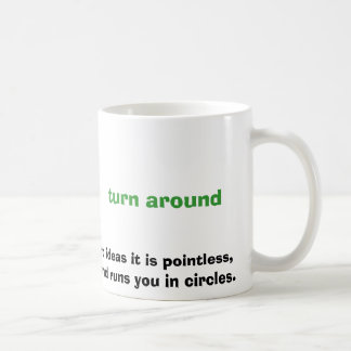 like most management ideas it is pointless , does coffee mug
