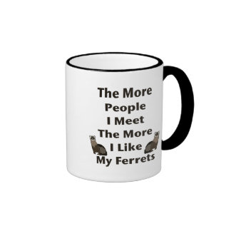 Like My Ferrets Mugs