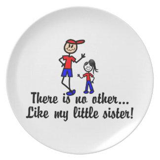 Like My Little Sister Dinner Plate