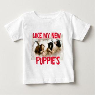 like my new puppies baby T-Shirt