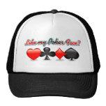 Like my Poker Face? Mesh Hats