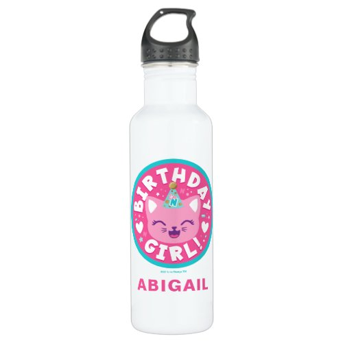 Like Nastya   Birthday Girl! Stainless Steel Water Bottle