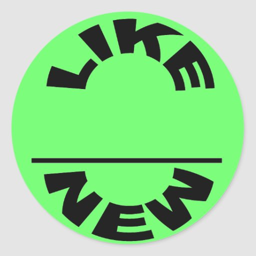 Like New Sticker