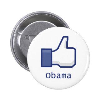 Like Obama 2 Inch Round Button